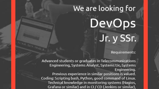 DevOps search flyer